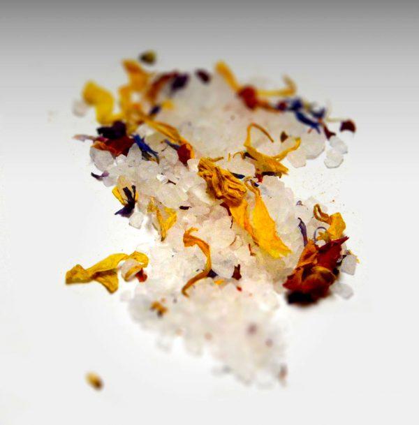 Gewürze Blütensalz