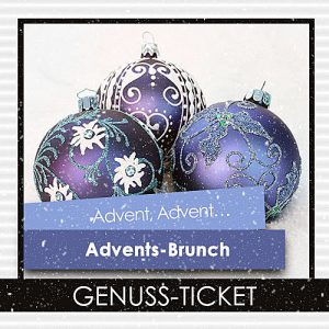 Genuss-Ticket Advents-Brunch