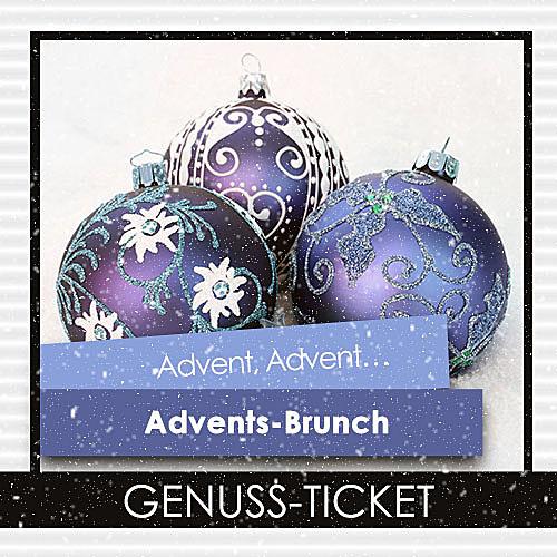 Genuss-Ticket Advents-Brunch