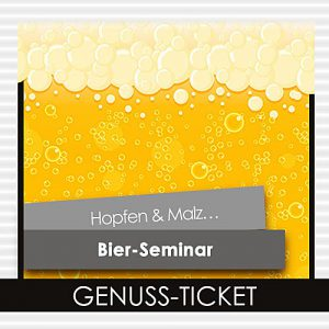 Genuss-Ticket Bier-Seminar