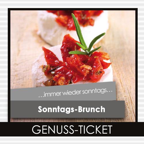 Sonntags-Brunch Genuss-Ticket